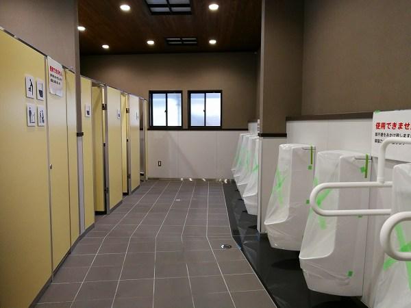道の駅しもにた・男子トイレ