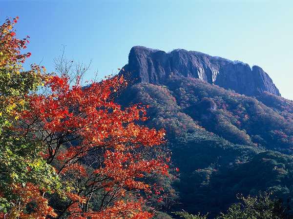 荒船山と紅葉